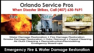 Fire and Water Damage Restoration Ocoee FL (407) 630-9691 Smoke Fire Damage Repair