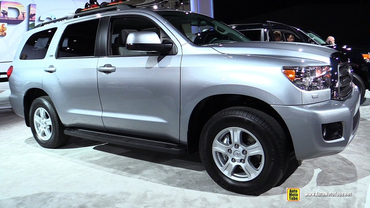 Toyota Sequoia Interior 2017