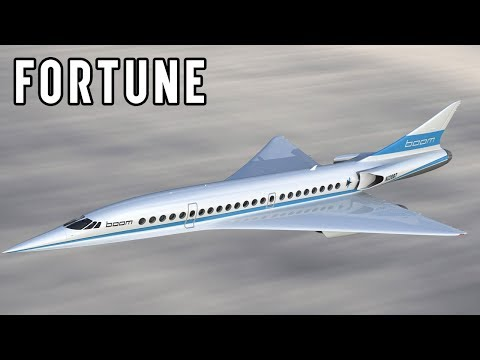 Richard Branson, Boom Technology Inc. to Revive Supersonic travel I Fortune