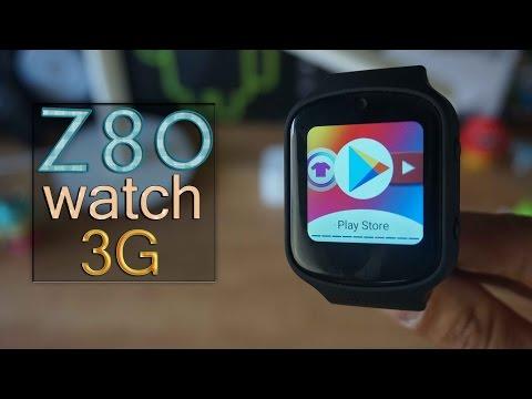 Z80 3G Smartwatch - Review completa con Android 5.1 y nano SIM (Whatsapp)