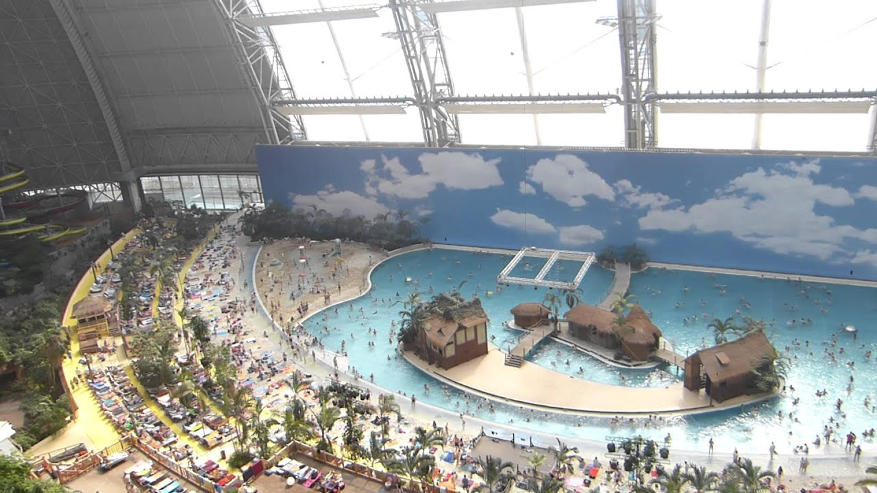 Tropical Islands Aerium The Biggest Free Standing Hall