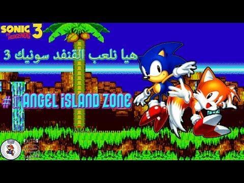 100th video//Let's Play Sonic the Hedgehog 3 #1: Angel island zone   هيا نلعب القنفد سونيك 3