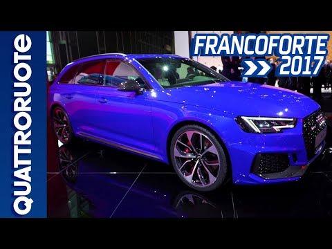 La nuova Audi RS4 al Salone di Francoforte 2017 | Quattroruote