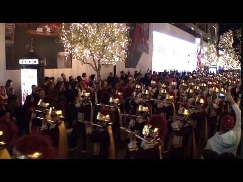 USC Trojan Marching Band - Pep Rally December 2016