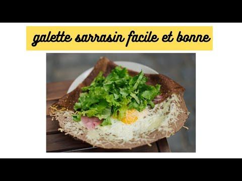 #tuto-#sarrazin-#galette-faire-une-galette-sarrasin(crêpe-salée)-facile-et-bonne-pour-moins-de-1euro