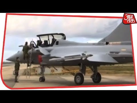 First Visuals Of Brand New India-bound Rafale Fighter Jet | AajTak Exclusive