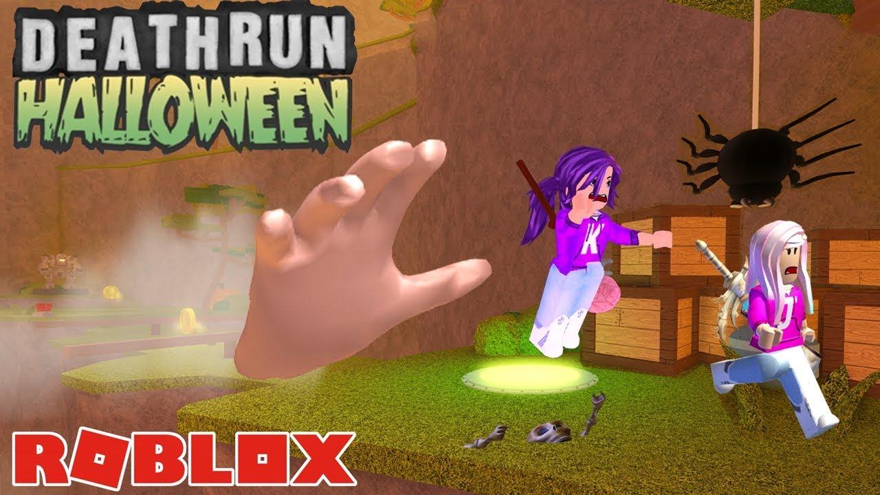 Can We Escape Death Roblox Deathrun Hallow S Eve Youtube - roblox deathrun hallows eve event