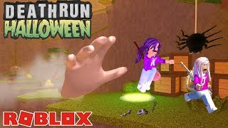 CAN WE ESCAPE DEATH?! 🖐 / Roblox: Deathrun Hallow's Eve
