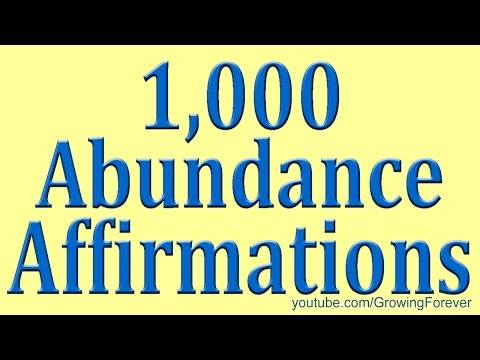 1,000 ★POWERFUL★ Abundance Affirmations & Images - Wealth Money Prosperity Cash Law of Attraction #2