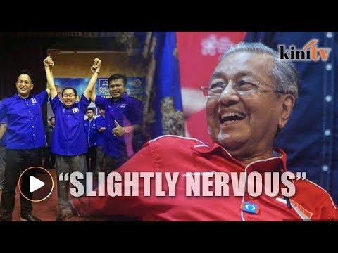 Nawawi: I'm slightly nervous facing Mahathir in Langkawi