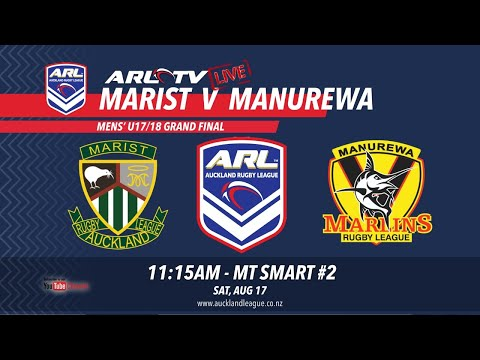 Mens' U17/18 Grand Final - Marist V Manurewa