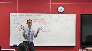 Quadratic Factorisation (3 of 3: Interpreting quadratic solutions)