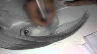 desenho realista jarlei drawing 02