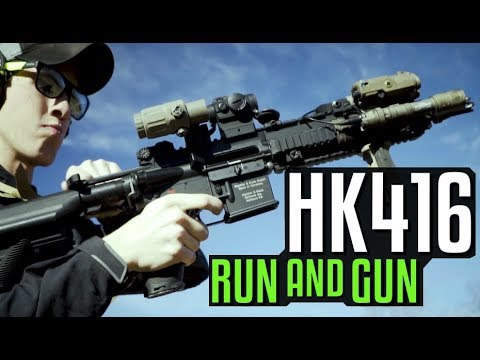 Running and Gunning with the HK416