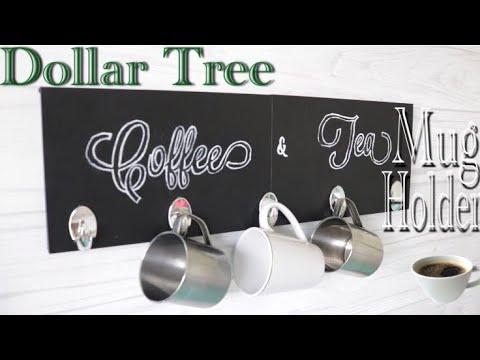 Dollar Tree DIY Coffee Mug Holder