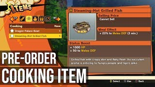 Cooking Item: Steaming-Hot Grilled Fish (Pre-Order Bonus Content) - Dragon Ball Z Kakarot