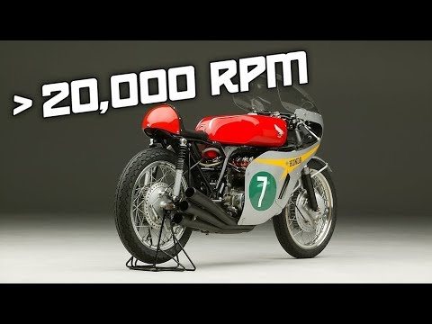 8 Engines Revving Up To 20,000 RPM