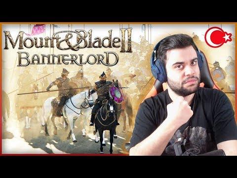 YILLARDIR BEKLENEN OYUN ÇIKTI ! Mount & Blade II Bannerlord Türkçe