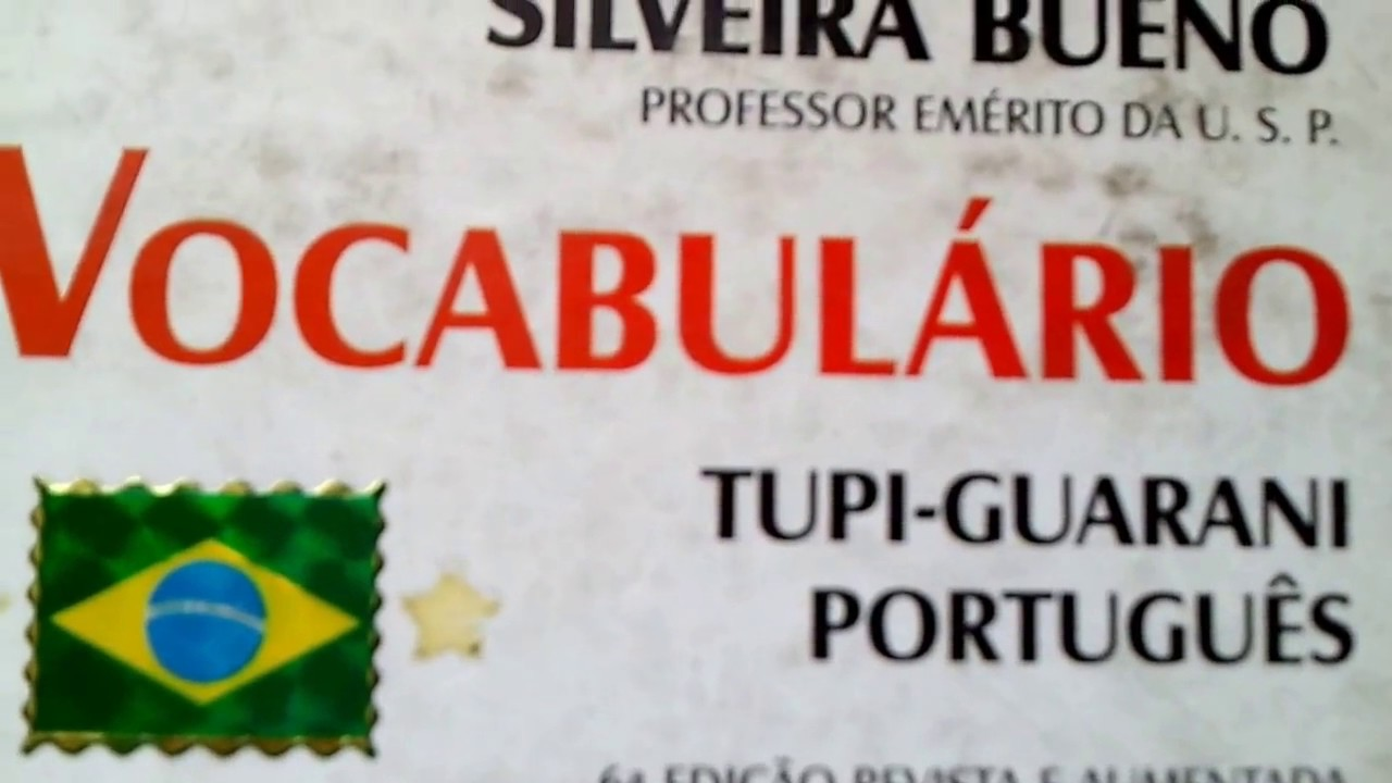 Vocabulário Tupi Guarani Português