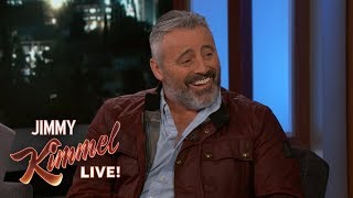 Matt LeBlanc on Man with a Plan & the Monkey from Friends