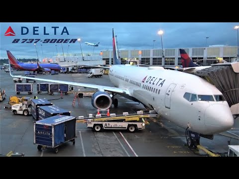 Approach Over Manhattan NYC 🇺🇸, Delta Boeing 737, Seattle ✈️ New York JFK [ FLIGHT REPORT]