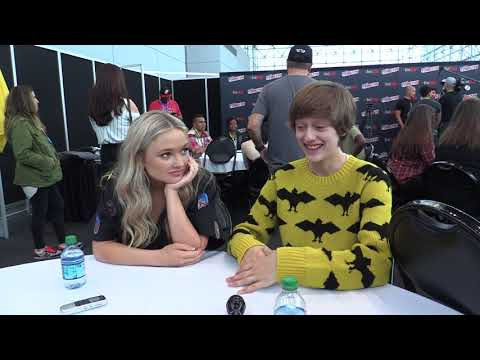 NYCC 2017: Comic Uno The Gifted's Natalie Alyn Lind and Percy Hynes White