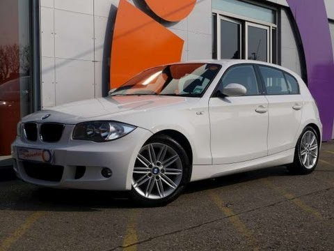 2008 bmw 118d m sport 143 hatchback 5dr white for sale in hampshire youtube. Black Bedroom Furniture Sets. Home Design Ideas