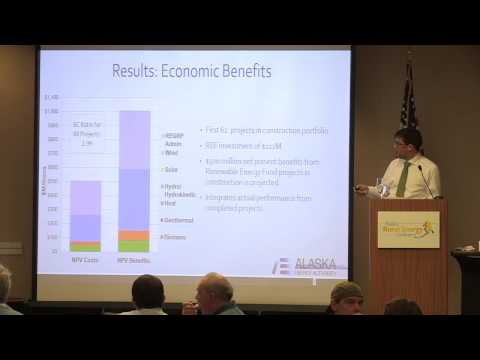 Five Years of the Renewable Energy Fund - Alaska Rural Energy Conference '13