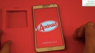 Официальный Android 4.4.2 на Samsung Galaxy Note 3: беглый взгляд