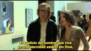 Sueños de un seductor (Play it again, Sam, 1972). Escena del museo