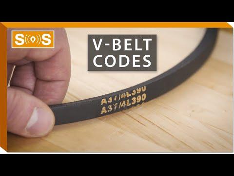 V-Belt Code Guide | Spec. Sense