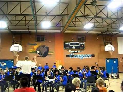 Kennedy Middle School Band Also Sprach Zarathustra