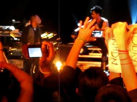 Adam Lambert - Purple Haze and intro WLL - Paris, Le Trabendo - Glam Nation