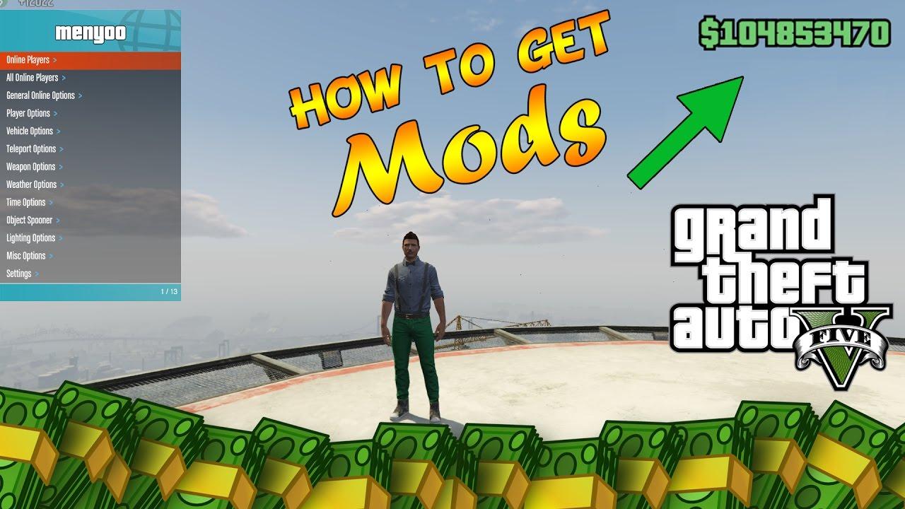 GTA 5 Online: How To Install Mod Menus ONLINE!! (Menyoo)