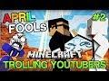 Minecraft Trolling Youtubers - APRIL FOOLS' SPECIAL w/ Vikk and Baki