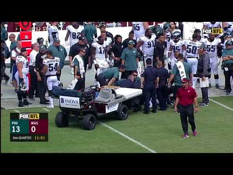 Ronald Darby Injures ankle