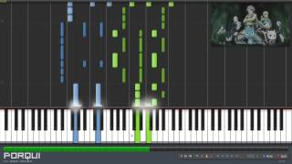 Repeat youtube video Fairy Tail Opening 15 - Masayume Chasing (Synthesia)