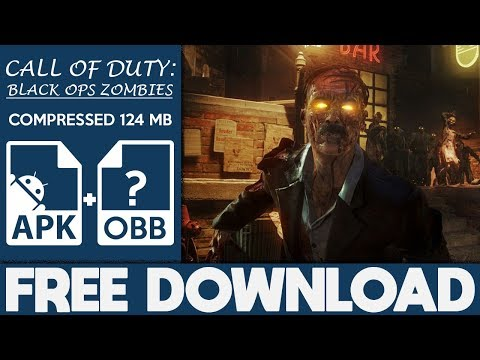 download call of duty zombies apk+data