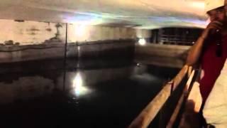 El Túnel Sumergido  bajo el río Coatzacoalcos.