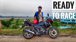 Tvs apache RTR 160 | Moto vlog | bike washing