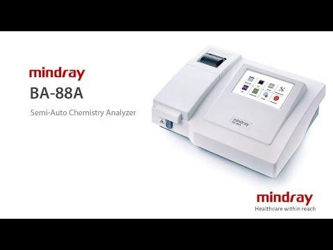 Mindray BA-88A | Semi-Auto Chemistry Analyser |