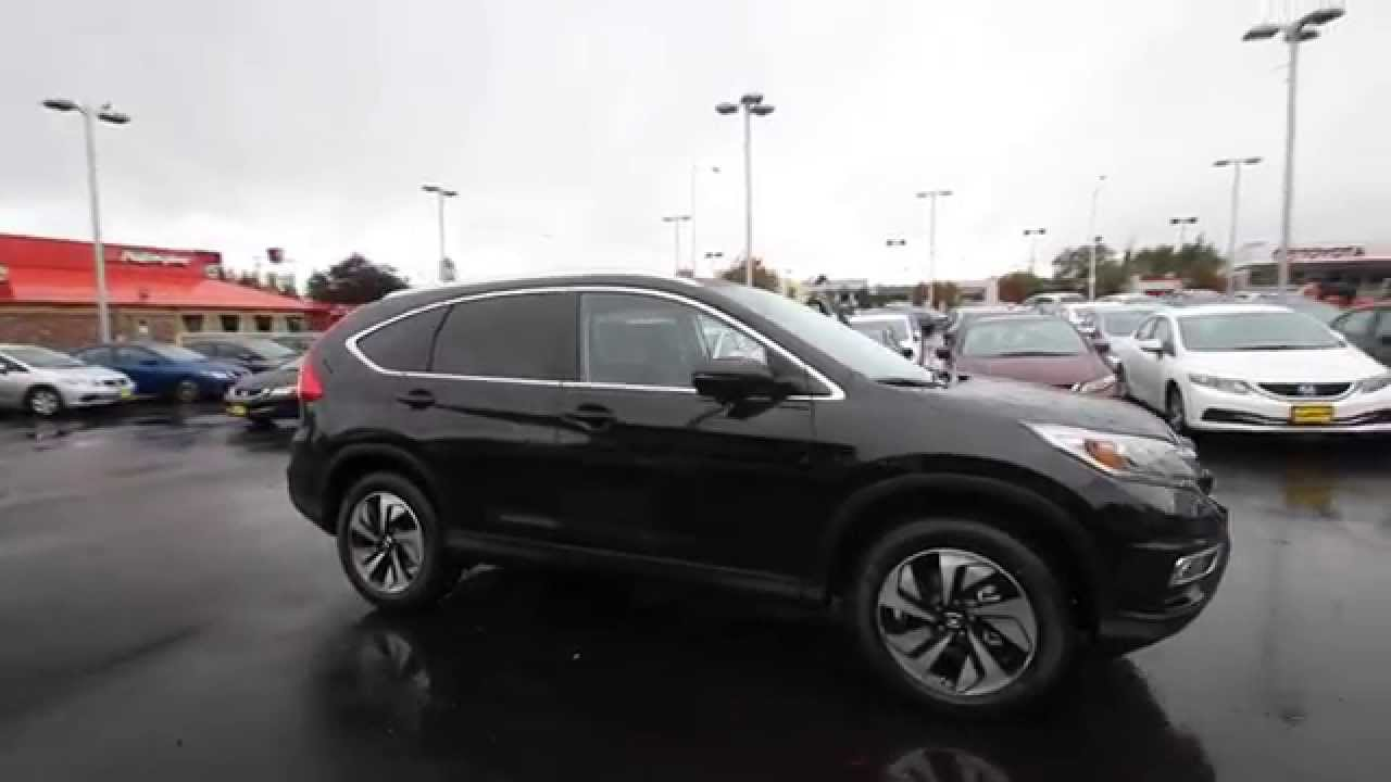 2015 Honda CR-V Touring | Crystal Black | FL006196 ...