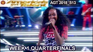 America's got talent Quarterfinals results