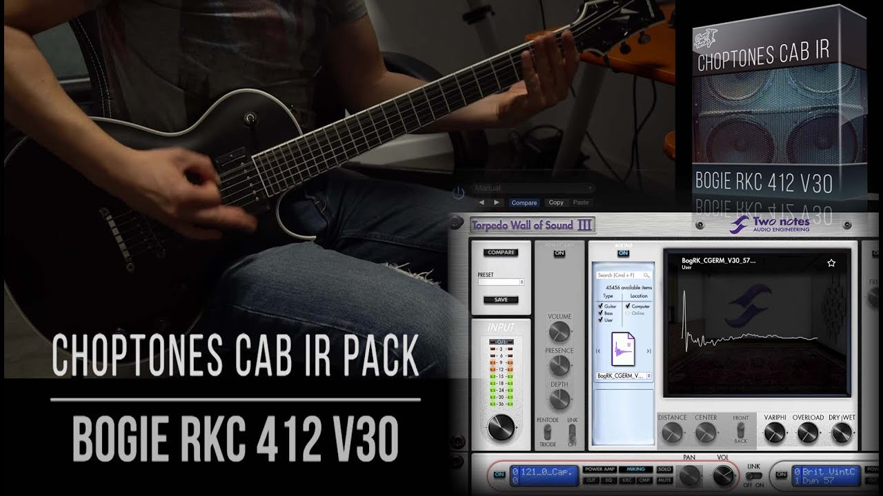 Cabinet IR | Bogie RKc412 V30 | Playthrough (Mesa Boogie Roadking 4x12)