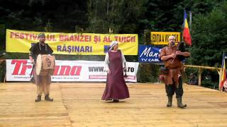 Medieval music from din Würzburg Germany at Rășinari[RO], August29th 2010