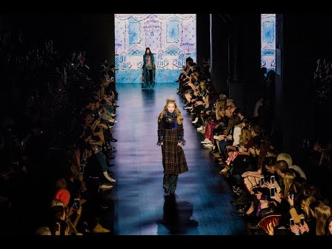 Anna Sui Fall 2017 Runway Show