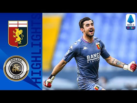 Genoa Spezia Goals And Highlights