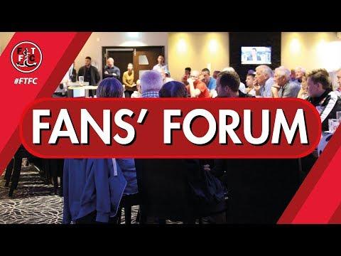 Fleetwood Town Fans' Forum 2017 (Part 1)