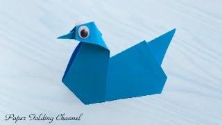 Origami Duck