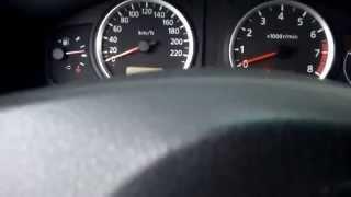 видео Nissan Almera мороз -22